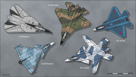 Musings on Aircraft Design by Jetfreak-7