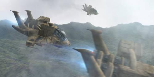 Raptors over Scorpia