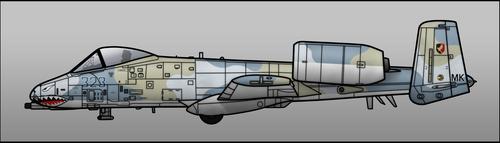 EAF Warthog by Jetfreak-7