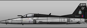 RAF F-5K by Jetfreak-7
