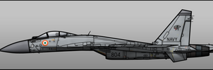 Indian Su-33 by Jetfreak-7