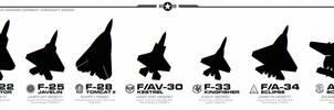 Alternate History - US Combat Aircraft by Jetfreak-7