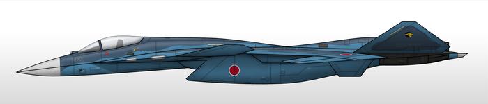 X-02J - Japan Air Self Defense Force by Jetfreak-7