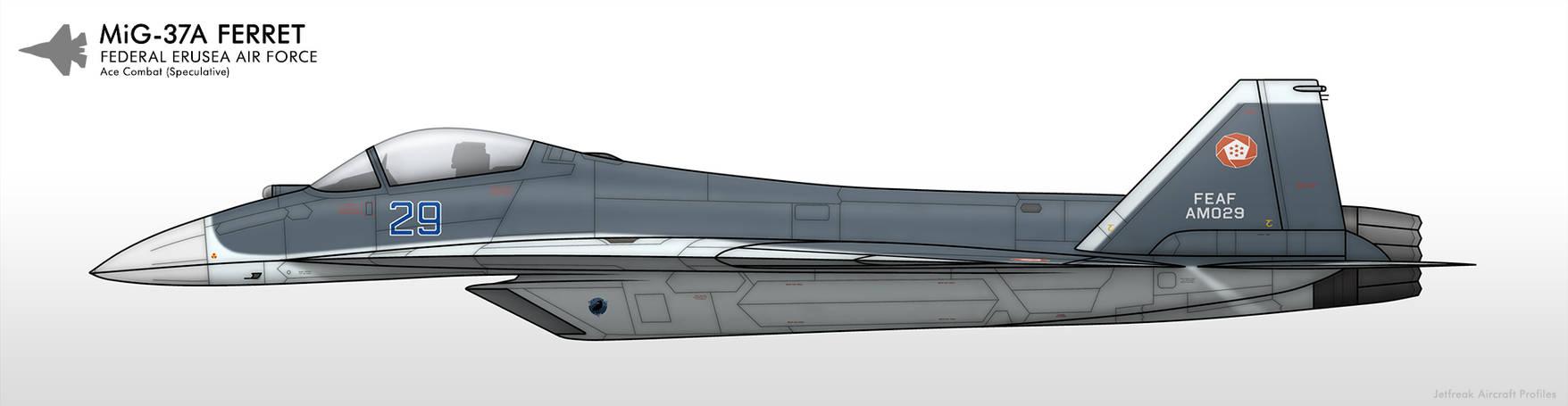 MiG-37A - Federal Erusea Air Force