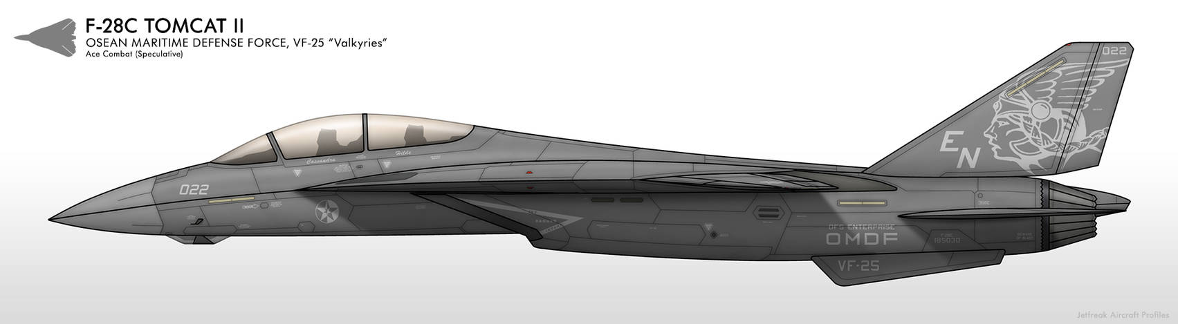 F-28C - VF-25 Valkyries