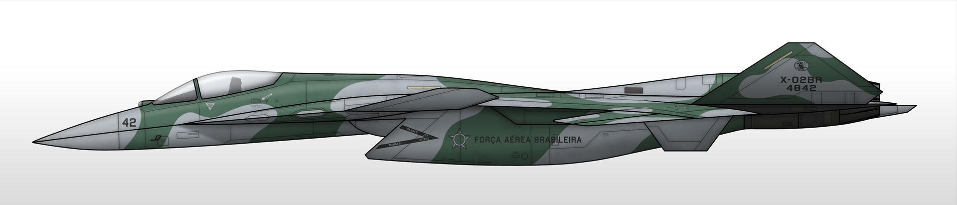 X-02BR - Brazilian Air Force
