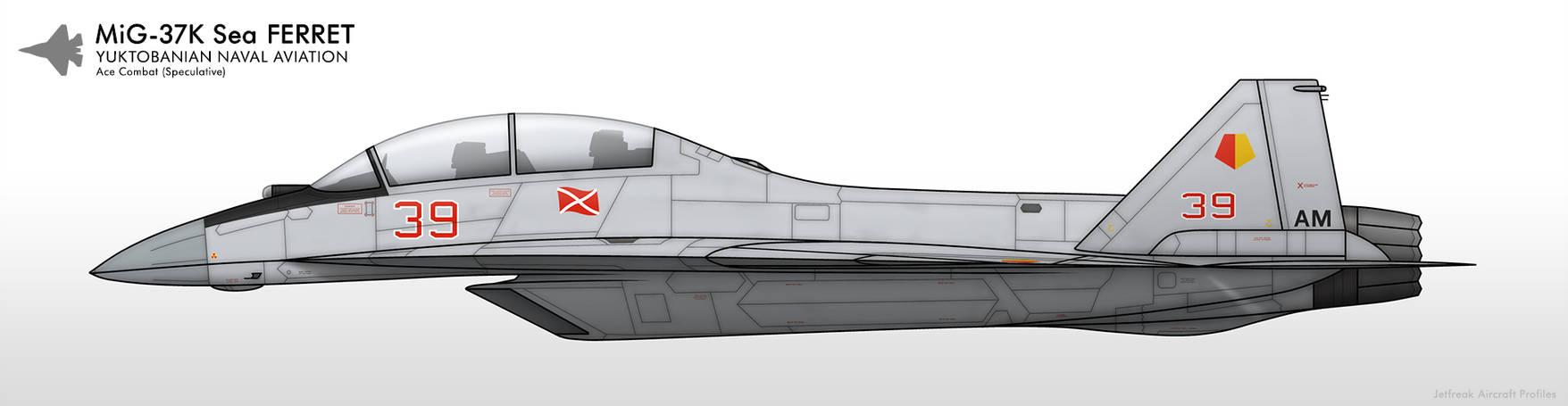 MiG-37K - Yuktobanian Navy