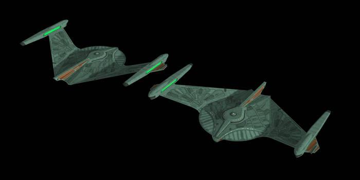Romulan Bird of Prey (Refit) by Jetfreak-7