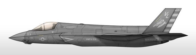 F/AV-30A - VMFA-331 Bumblebees