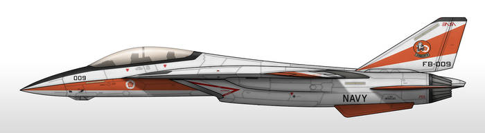 F-28E - Erusean Air and Space Administration by Jetfreak-7