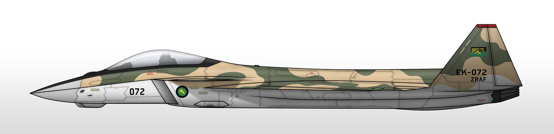 JAS-41A - Zamundan Royal Air Force