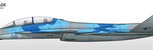 Su-49B - Ukrainian Air Force