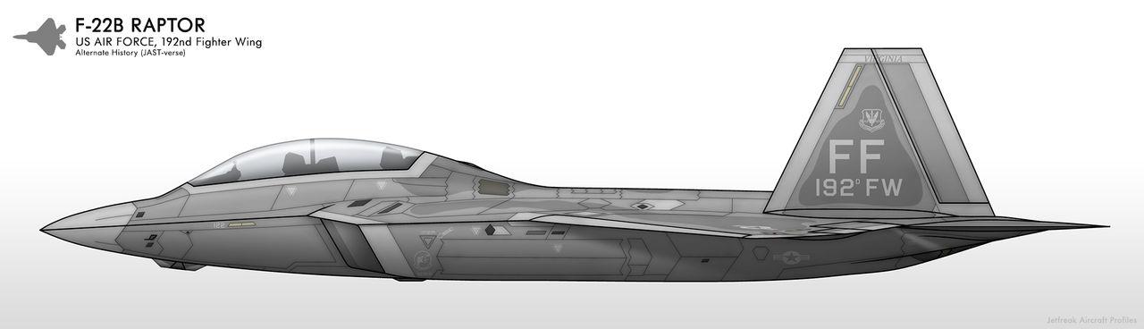F-22B - US Air Force