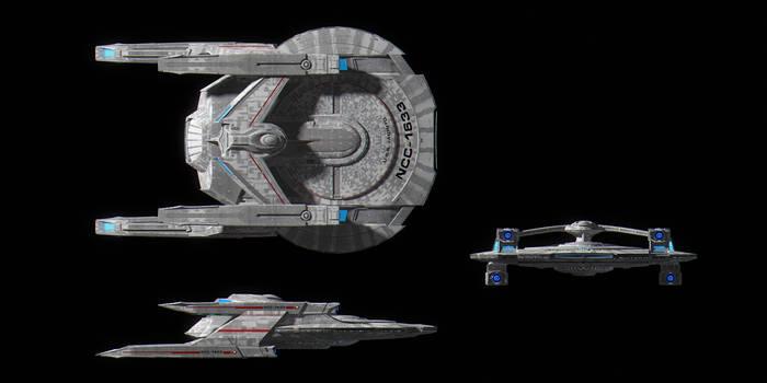 Starfleet Nimitz Class