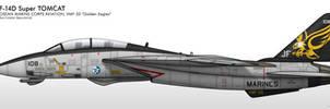 F-14D - VMF-33 Golden Eagles