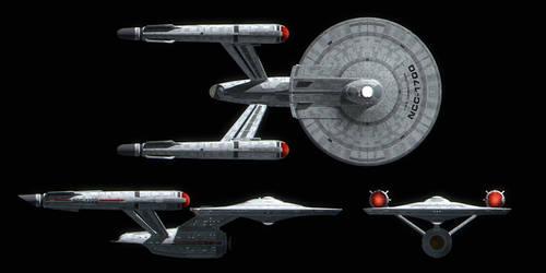 Starfleet Constitution Class