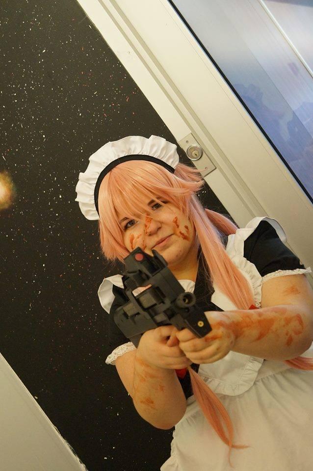 'Aren't I cute Yuuki?? I'll protect you.' by Crissie-Ki