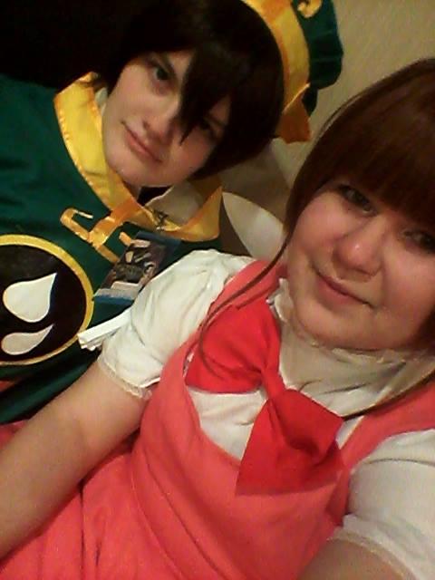 Sakura and Syaoran Selfieee by Crissie-Ki