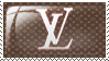 Louis Vuitton stamp by Dmitrybulletdodger