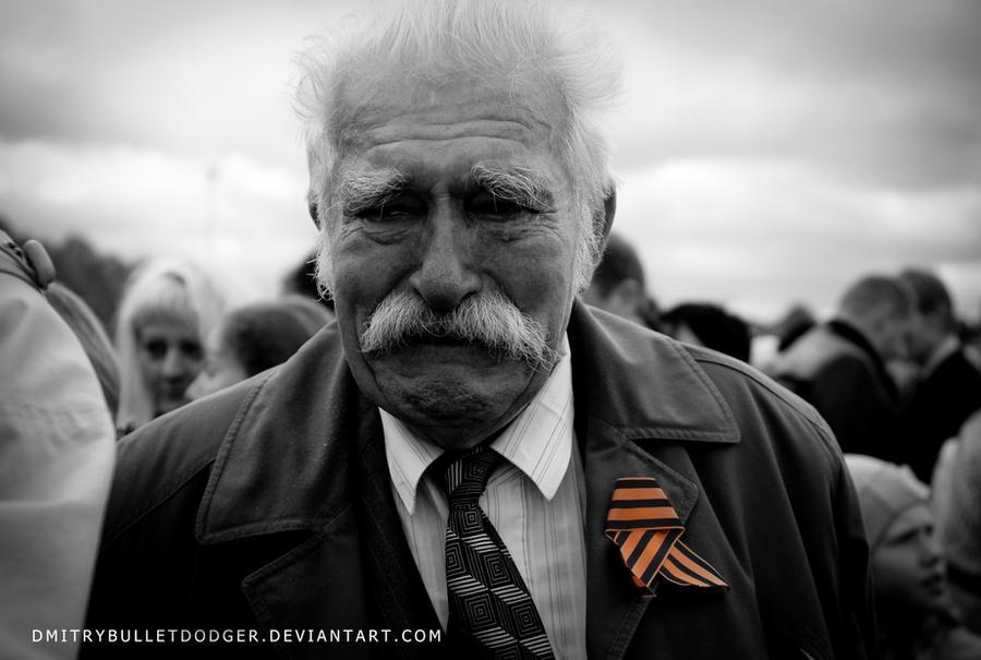 Tears of the veteran