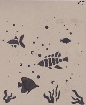 Fish B+W