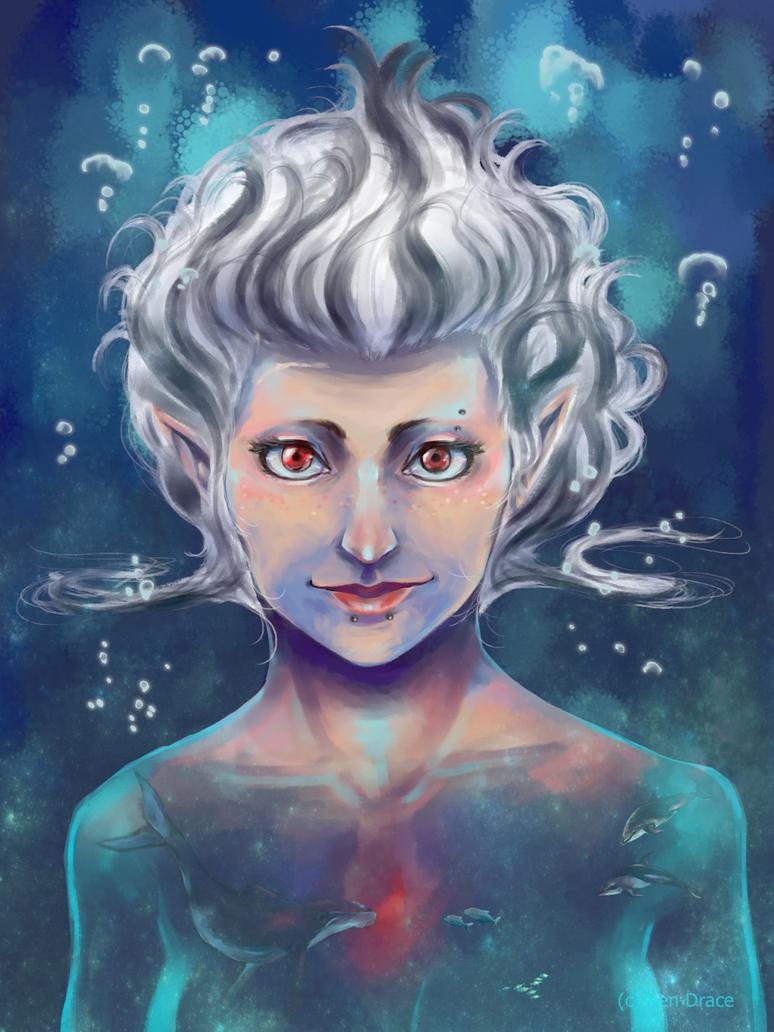 I am an ocean 2016 by Ven-Drace