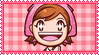 Cooking Mama Stamp by ginacartoon