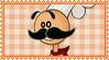Papa Louie Stamp by ginacartoon