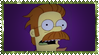 Zombie Flanders Stamp by ginacartoon