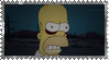 Zombie Homer Stamp by ginacartoon
