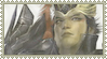 Lu Bu Stamp by ginacartoon