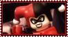 Lego Harley Quinn by ginacartoon