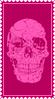 SkullHella Stamp by ginacartoon