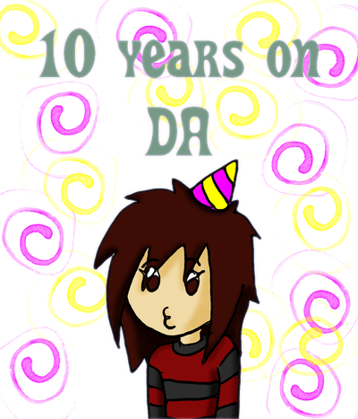 10 YEARS ON DA! by ginacartoon