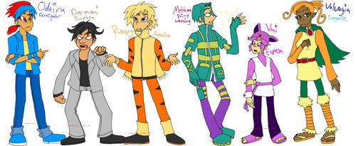 PKMN: Neo Team Chugga by PuppyLuver