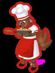 Mii: Chef Tidbit by PuppyLuver