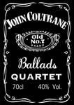 John Coltrane Whiskey Label