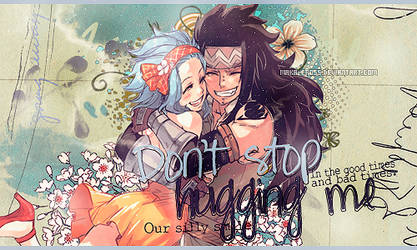 Don't stop hugging me [Out]