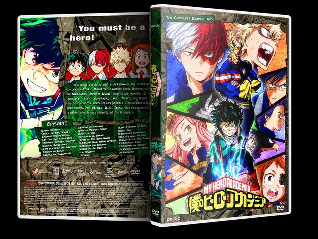 Boku No Hero Academia Season Two Dvd Cover By Sylargreyp