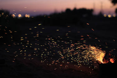 fire fireworks by boudi305