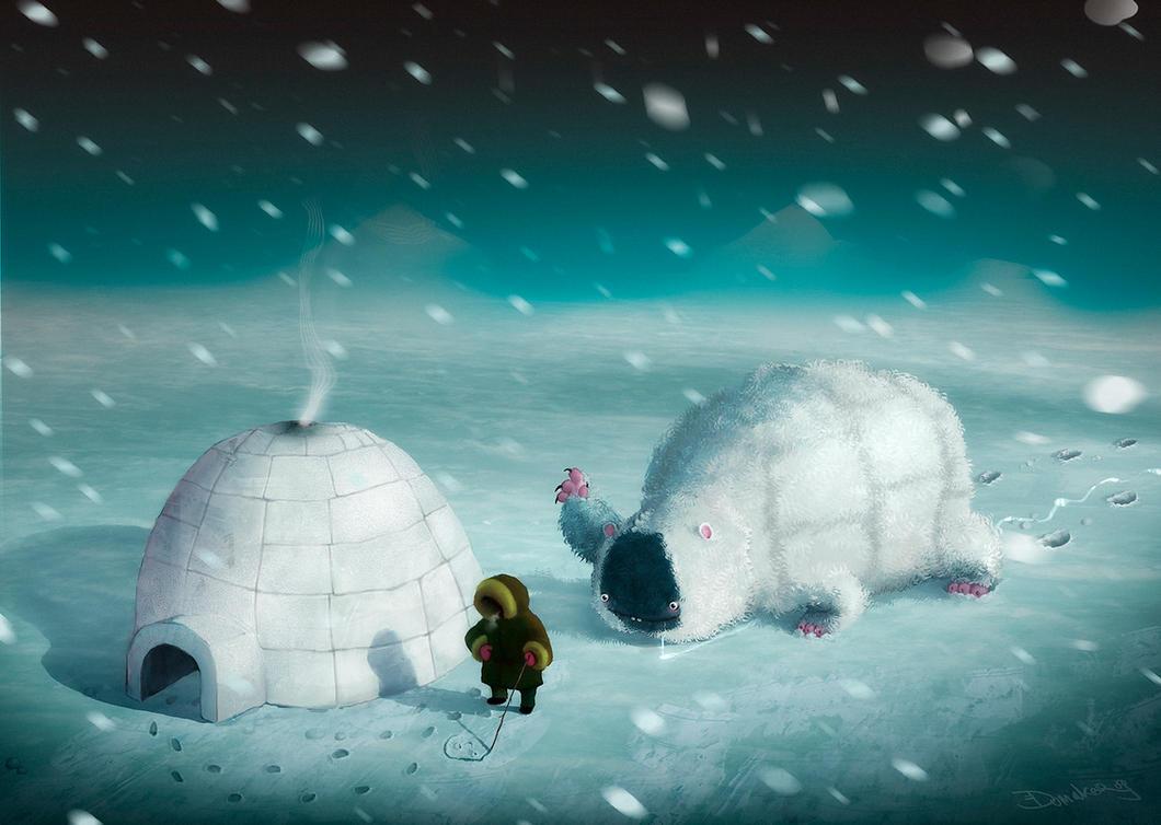 Eskimo Hunter by Dumaker