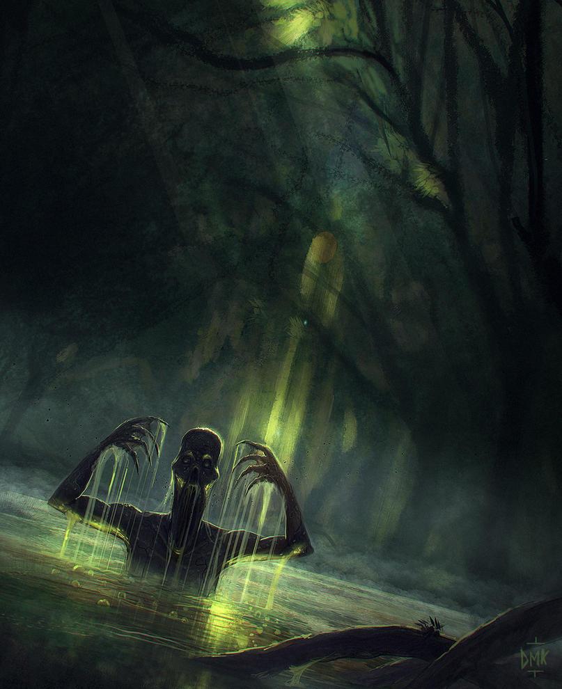 Swamp devourer by Dumaker