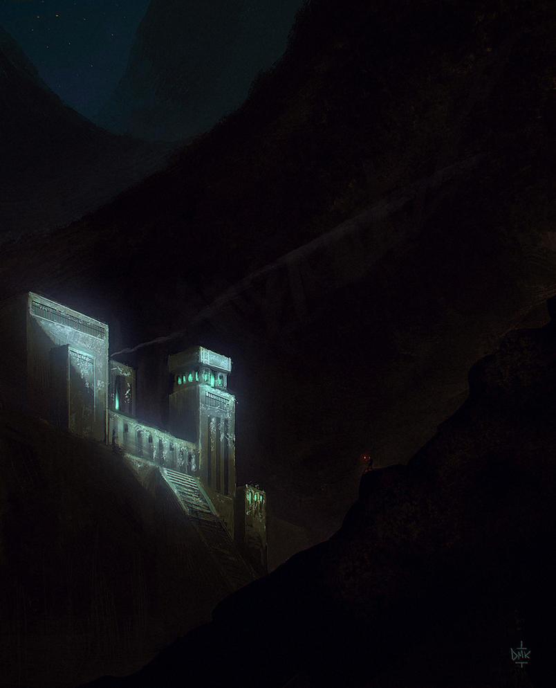 Minas Morgul by Dumaker