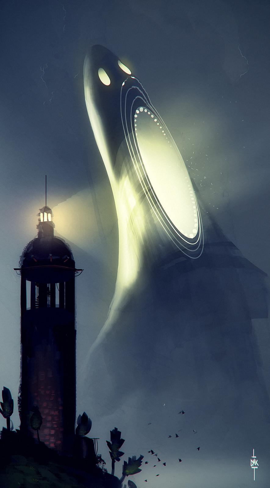 Night in the Lighthouse - Dumaker