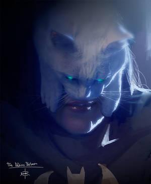 Blanki Txelo Albino Batman by Dumaker