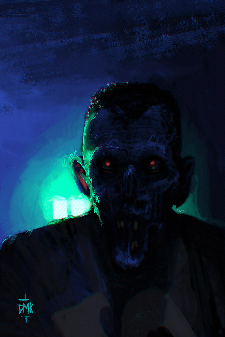 Walking Dead SpeedPaint by Dumaker