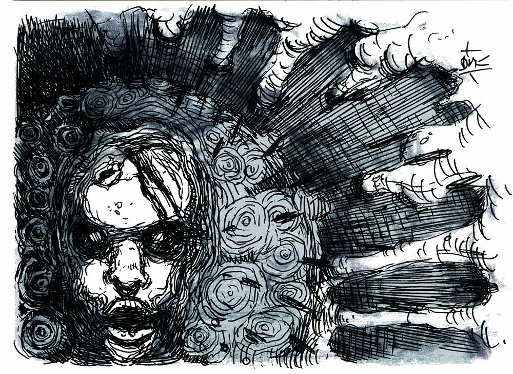 Inktober #5 - 27 days of Zombie Apocalypsis by Dumaker