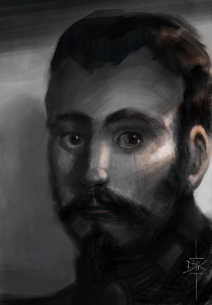 The Sad Captain by Dumaker