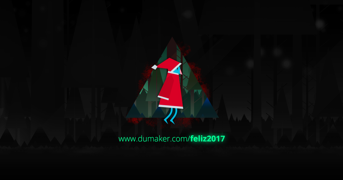 My GAME for the Happy New Year 2017 greetings by Dumaker