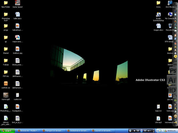 Desktop by Fanngorn